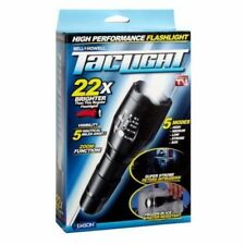 Brand New Bell Howell Taclight High-Powered Tactical Flashlight 22X Brighter