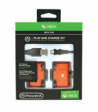 New Power A PLAY & Charge KIT for XBOX ONE Video Games Accessories Batteries