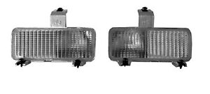81/82 CHEVY PU GMC FRONT TURN SIGNAL PARK LAMPS LIGHTS SET OF TWO NEW