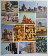 LOT - 12 PIECE ARCHAEOLOGICAL SURVEY OF INDIA VINTAGE  POSTCARDS ALL DIFFERENT