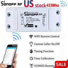 Sonoff 433Mhz RF WiFi Wireless Smart Switch Receiver Remote Control Home Socket