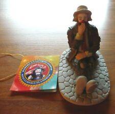 "Emmett Kelly Jr Flambro Clown Collection Porcelain Vintage Figurine ""Bedtime"""