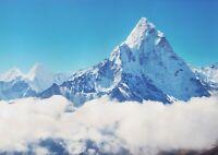 A1 Mount Everest Poster Art Print 60 x 90cm 180gsm Himalaya Mountain Gift #15689