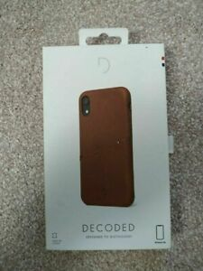 Decoded Leather Snap-On Case for iPhone XR official apple case RRP £39