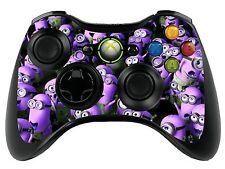 Púrpura Minions Xbox 360 Control Remoto controller/gamepad skin/cover / Vinilo Wrap xbr41
