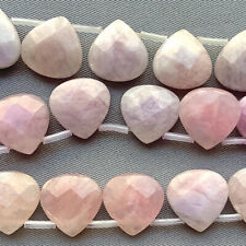 Candy Jade Lilac Faceted Briolette Petal 13mm Semi Precious Stone Q1 Strand