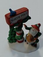 Dept 56 Heritage Village Collection Trimming The North Pole