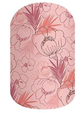 Jamberry treats: full sheet: Country Manor (pink flowers on pink)