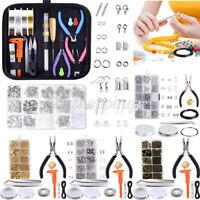 1072PCS Necklace Jewelry Making Tool Bracelet Earrings Handmade Craft DIY