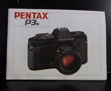 PENTAX P3N Caméra Owner Guide Utilisateur Instruction Manuel 1988 49 Anglais