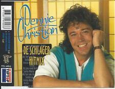DENNIE CHRISTIAN - De Schlager Hitmix CD SINGLE 2TR (TIPTOP) 1997 RARE!