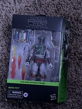 "Star Wars Black Series Deluxe BOBA FETT  6"" Action Figure - Factory Sealed Box"