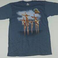 Monty Python Life of Brian Liquid Blue Men's T-Shirt NEW 2XL