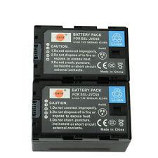 DSTE 2x SSL-JVC50 JVC50 Rechargeable Battery for JVC HM600 HM650 GY LS300 Camera