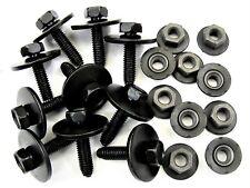 Honda Body Bolts & Barbed Nuts- M6-1.0mm Thread- 10mm Hex- Qty.10 ea.- #390