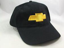 Chevrolet Hat Black Strapback Baseball Cap