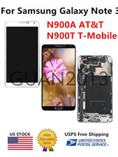 WOW For Samsung Galaxy Note3 SM-N900A AT&T N900T T-Mobile LCD Touch Screen FRAME