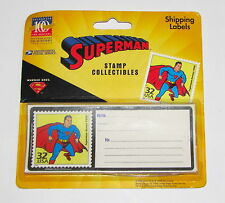 US Post Office Stamp Collectibles Superman Shipping Labels Celebrate the Century