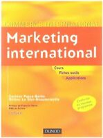 Livre Marketing international cours fiches outils applications  /R15