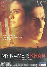 MY NAME IS KHAN - SHAHRUKH KHAN - KAJOL - SUPER HIT BOLLYWOOD DVD – FREE UK POST