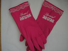 special mum pink washing up gloves ,mothers day,birthday,christmas