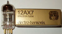 Electro Harmonix 12AX7/ECC83 pre-amp tubes,Gold Pin,NEW