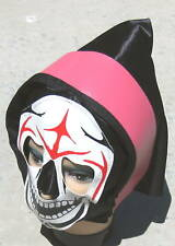 Mask Hood Red Black Skeleton Halloween Costume