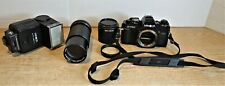 Minolta X-700 MPS 35mm SLR Film Camera, Zoom Lens, Flash UNTESTED AS IS