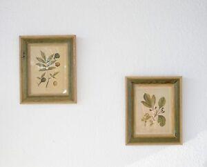 Bilder 2er Set Kunst Kunstdruck Wandbild Wohnzimmer Gilde Handwerk Deko B35