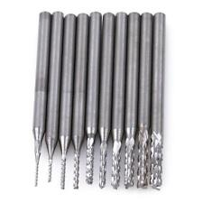 10pcTungsten Carbide Cutting Burr Set Dremel Drill Bits Rotary Grinder Bit Set S