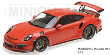 "Minichamps 155066220 - Porsche 911 GT3 RS (991) �€""2015 �€"" Lava Orange L.E.2004 P"