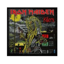 """Iron Maiden: Killers"" Album Cover Art Heavy Metal Music Sew On Applique Patch"