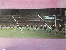 RUGBY UNION PHOTOGRAPH - THE HAKA 1997