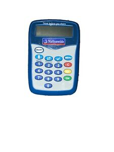 Nationwide Pinsentry Security Online Banking Pin Entry Bank Card Reader NEW