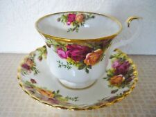 VINTAGE ROYAL ALBERT OLD COUNTRY ROSES BONE CHINA CUP & SAUCER