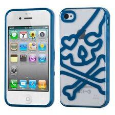 Étuis, housses et coques bleu transparent Pour iPhone 4 pour téléphone mobile et assistant personnel (PDA)
