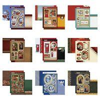 Hunkydory Christmas Card Making Kits - Festive Memories - Choice of Topper Sets