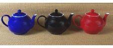 Arthur Wood Pop Pot Porcelain 6 Cup Teapot Tea Pot BLACK