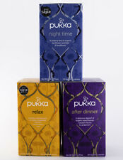Pukka Tea - Evening 3 Pack - 1 Box of After Dinner, Night Time & Relax - Herbal