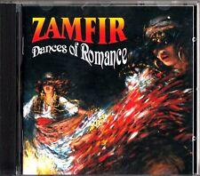 ZAMFIR- Dances of Romance CD (Panflute/Panpipes) Brahms/Bartok/Dvorak/Liszt