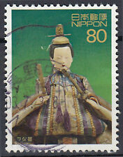 Japan gestempelt Statue Figur Religion Glaube Tracht Tradition / 6611