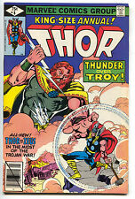 Mighty Thor King Size Annual 8 Marvel 1979 FN VF Zeus Bob Layton Keith Pollard