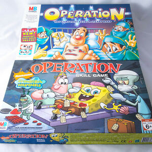 Various MB Operation Game Spare Body Parts, Cards & Money