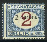 Dalmazia 1922 Sass. 3 Nuovo ** 100% Segnatasse 2 C. 2 l.