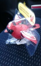 NEW CHRISTMAS SOLAR POWERED flying cardinal  HOLIDAY DANCING TOY DECORATION 2017