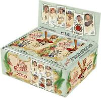 2019 Topps Allen and Ginter Baseball Factory Sealed 24 Pack Retail Box