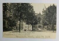 c1906 Postcard Michigan State Normal School Ypsilanti MI
