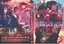 Sword Art Online Alternative Gun Gale Online (Chapter 1 - 12 End) ~ DVD ~ Anime