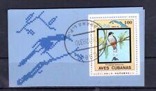 Block 80 Havanna Blumen und Vögel 1983