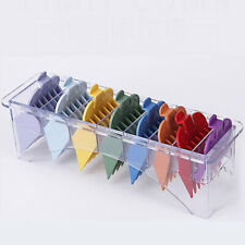 8Pcs Colorful Limit Comb Set Attachment Tool For WHAL Electric Hair
